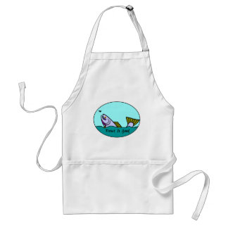 Trout Is Good III Adult Apron