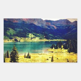 Trout Lake Rectangle Sticker