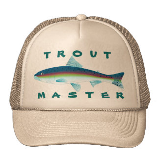 Trout Master Mesh Hat