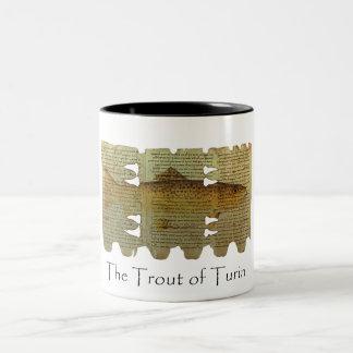 Trout of Turin mug
