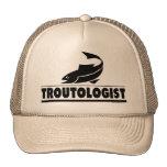 Trout -ologist - Humorous Trout Fish Mesh Hats