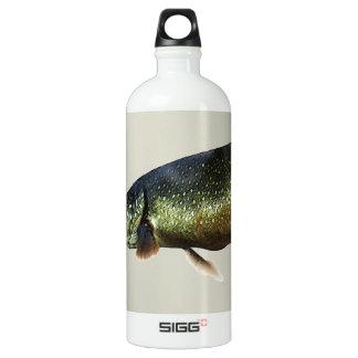 Trout on Beige Aluminum Water Bottle