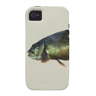 Trout on Beige Vibe iPhone 4 Covers