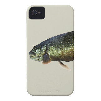 Trout on Beige iPhone 4 Case
