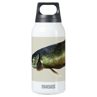 Trout on Beige Thermos Bottle