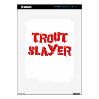 Trout Slayer Skins For iPad 3