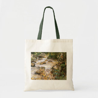 Trout Stream in the Tyrol by John Sargent Tote Bag