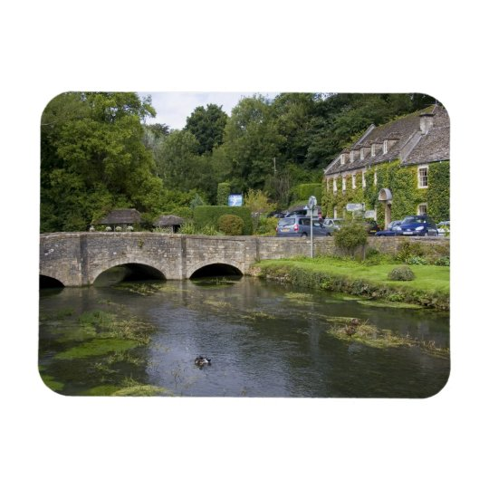 Trout stream in the village of Bibury, Magnet