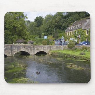 Trout stream in the village of Bibury, Mouse Pad