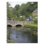 Trout stream in the village of Bibury, Note Book
