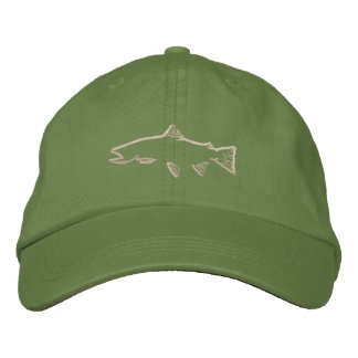 Trout Tracker Hat - Olive
