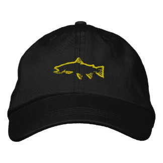 Trout Tracker Hat - Yellow