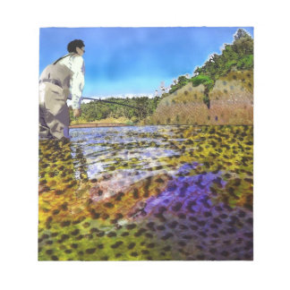Trout, trout, everywhere trout... notepad