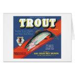 Trout Vintage Apples Label Cards
