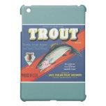 Trout Vintage Apples Label iPad Mini Covers