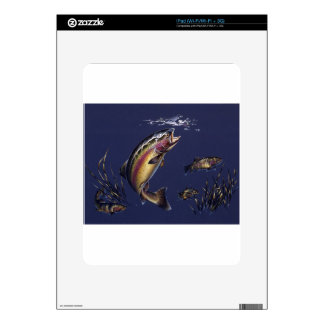 Trout Waters iPad Skins