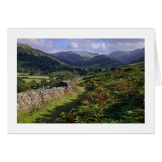 Troutbeck Valley & High Street - The Lake District Card