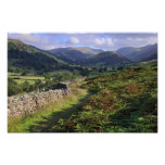 Troutbeck Valley - The Lake District Photographic Print