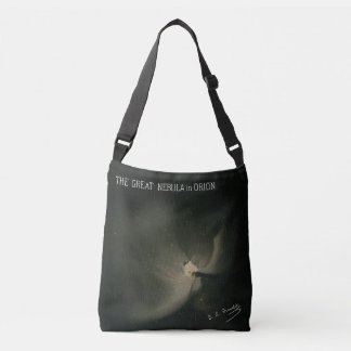 Trouvelot Drawings - The Great Nebula in Orion Crossbody Bag