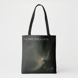 Trouvelot Drawings - The Great Nebula in Orion Tote Bag