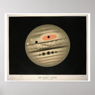 Trouvelot's Jupiter Poster