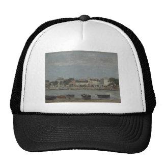 Trouville by Eugene Boudin Trucker Hat