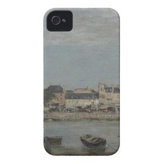 Trouville de Eugene Boudin iPhone 4 Case-Mate Cárcasa
