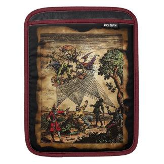 Trovadores medievales del alcohol fundas para iPads