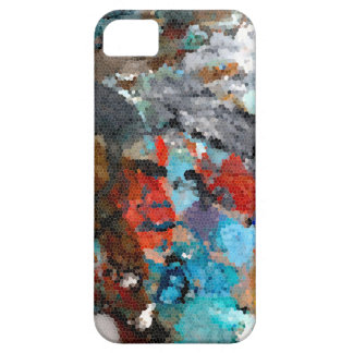 TROWEL ABSTRACT iPhone SE/5/5s CASE