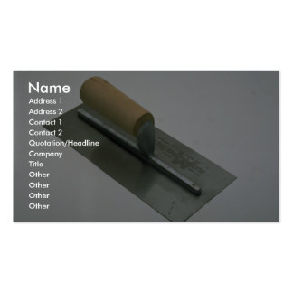 Trowel Double-Sided Standard Business Cards (Pack Of 100)