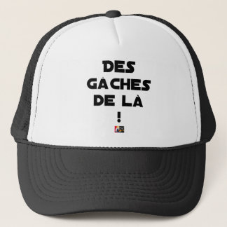 Trowels from there! - Word games - François City Trucker Hat