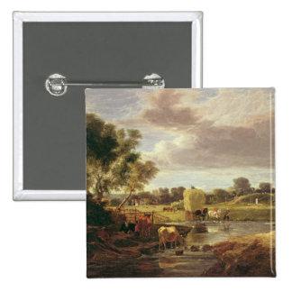 Trowse Meadows, Near Norwich, 1828 Button