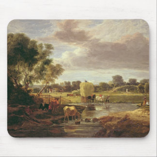 Trowse Meadows, Near Norwich, 1828 Mouse Pad