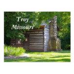 Troy 076, Troy Missouri Post Card