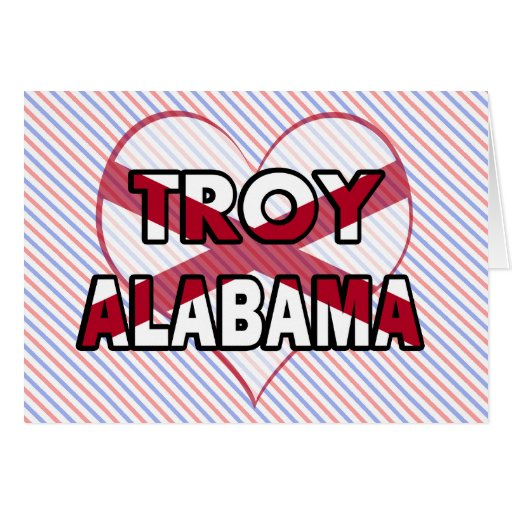 Troy, Alabama Greeting Card