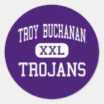 Troy Buchanan - Trojan - alto - Troy Missouri Etiqueta