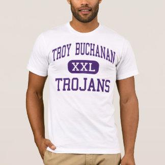Troy Buchanan - Trojan - alto - Troy Missouri Playera
