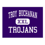 Troy Buchanan - Trojan - alto - Troy Missouri Postales