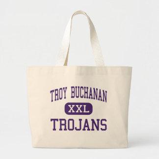 Troy Buchanan - Trojans - High - Troy Missouri Jumbo Tote Bag