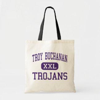 Troy Buchanan - Trojans - High - Troy Missouri Budget Tote Bag
