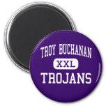 Troy Buchanan - Trojans - High - Troy Missouri Refrigerator Magnets