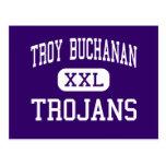 Troy Buchanan - Trojans - High - Troy Missouri Postcard