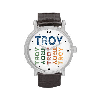 Troy Cute Colorful Wrist Watches