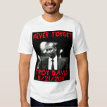 Troy Davis, Never Forget -- T-Shirt
