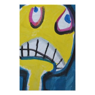 Troy - Graphic Yellow Face Stationery