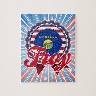Troy, MT Jigsaw Puzzle