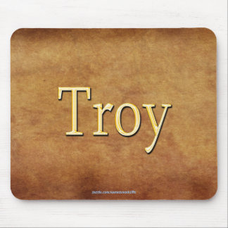 TROY Name-Branded Personalised Gift Mousepad