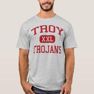 Troy - Trojan - escuela de secundaria - Troy Ohio Playera
