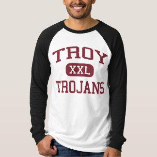 Troy - Trojan - escuela secundaria de Troy - Troy Playera