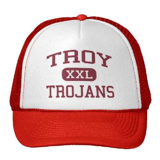 Troy - Trojan - High School secundaria de Troy - T Gorros